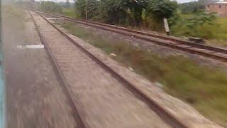 15027/Maurya Express मौर्या एक्सप्रेस Blasting at Sardarnagar flat 110 KMPH