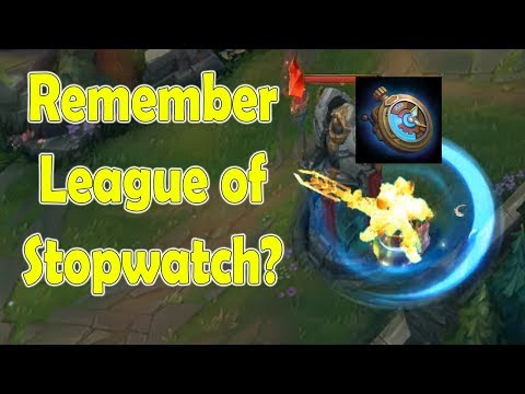 Remember League Of Stopwatch?