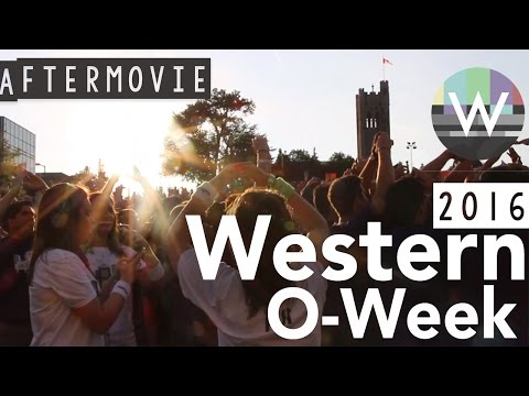 Western University O-week Aftermovie 2016