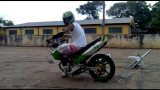 Wheeling Twister Cbx 250 Piloto kamikaze - Equipe Fritados Moto Clube
