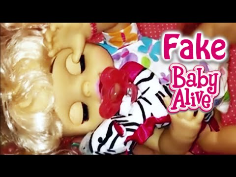 Question Plus My Fake Baby Alive Dreamy Baby Doll Changing