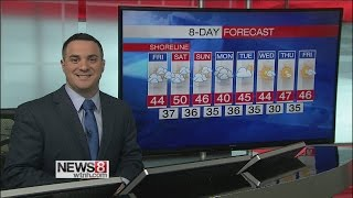 News 8 Weather Express - Friday