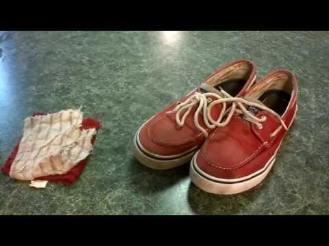 How To Clean The Inside of your Sperrys