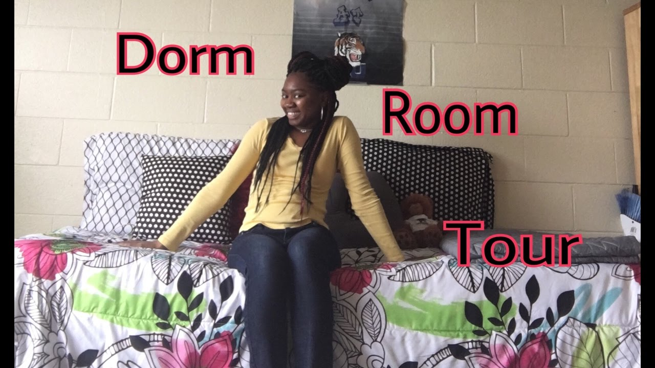Updated Dorm Room!!! (Spring Semester) 📦 Part 46