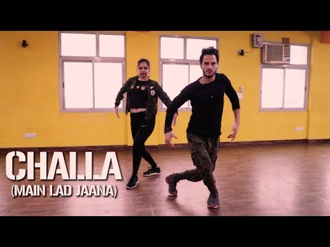 Challa (Main Lad Jaana) - URI Dance Cover By Sumit And Kalpana | Dancercise | Republic Day Special