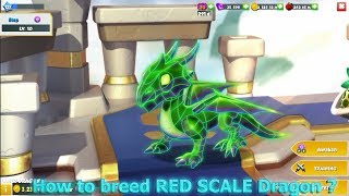 How to breed Red Scale Dragon ? - Dragon Mania Legends