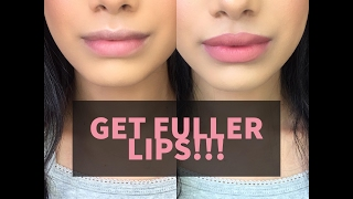 How to get FULLER LIPS naturally! | Malvika Sitlani