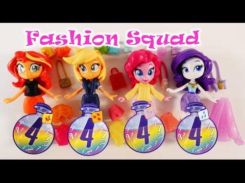 Equestria Girls Fashion Squad Singles - Pony Life Potion Mini Dolls