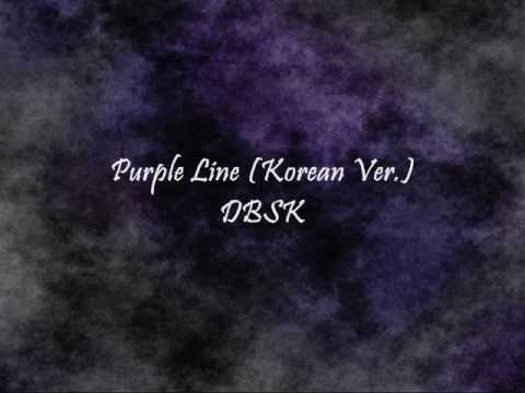 DBSK - Purple Line (Korean Ver.) [Han & Eng]