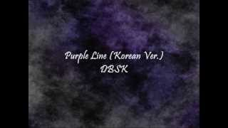DBSK - Purple Line (Korean Ver.) [Han & Eng] MP3