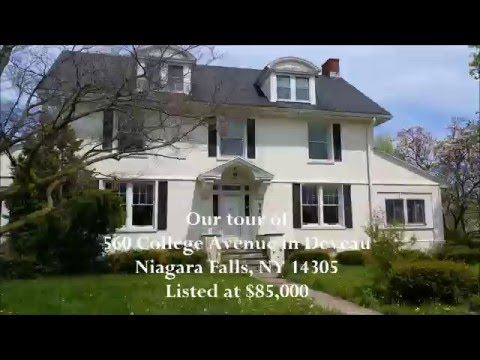 Home Tour of 560 College Ave Deveaux Niagara Falls NY - Part 1