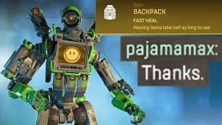 WHOLESOME Gold Backpack Moments in Apex Legends
