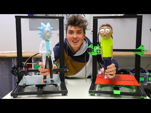 Rick Sanchez and Morty Smith and 3D Printers Giveaway!