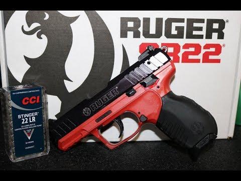 Ruger SR22 Pistol – Bangers Edition - .22 Caliber