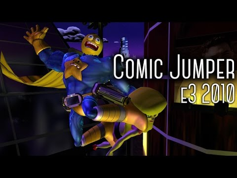 Comic Jumper e3 2010 Build : Twisted Pixel