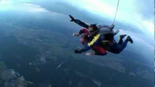 Skok ze spadochronem – Zielona Góra video