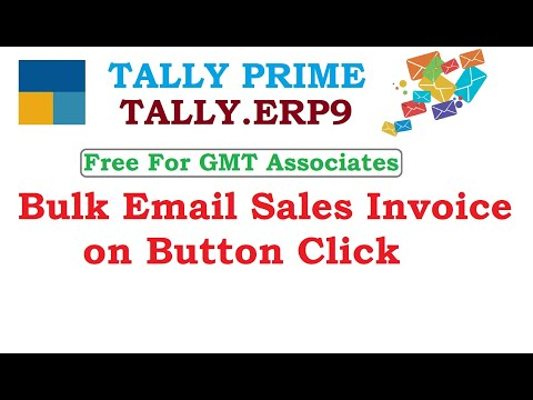 Bulk Email Sales Invoice on Button Click Whats App to 9037050040