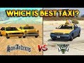 GTA 5 TAXI VS GTA SAN ANDREAS TAXI : WHICH IS BEST?