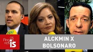 Debate: Alckmin x Bolsonaro