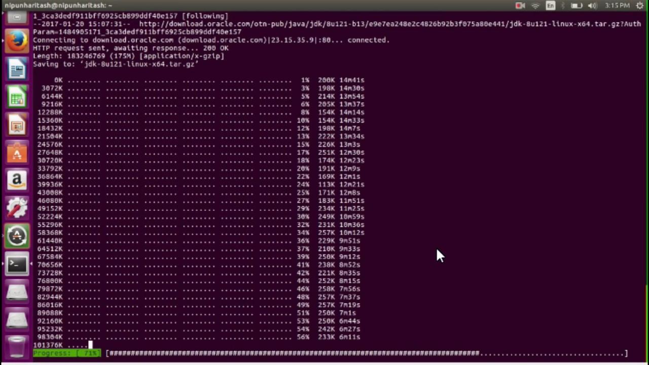 How to install Java SDK in Ubuntu 16 04 (xenial xerus)