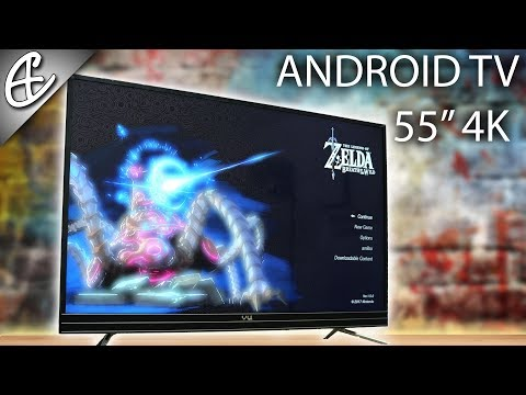 Vu 55 inch Smart TV - Cheapest 4K Android TV - Unboxing & Hands On Overview