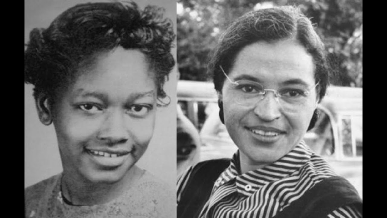 Image result for rosa parks and claudette colvin