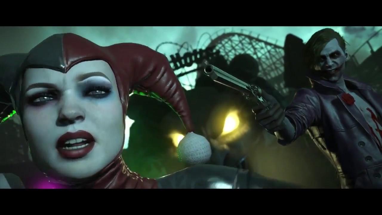 Injustice 2 Harley Quinn Vs Joker Cinematic Fight