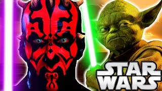 What if Yoda Trained Darth Maul? (ANIMATED) - Star Wars Theory