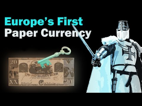 Europe's First Paper Currency: The History Of Money, Europe