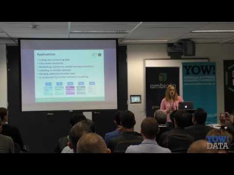 YOW! Data 2016 Natalia Rümmele - Automating Data Integration with Machine Learning