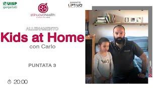 Allenamento KIDS AT HOME - 3
