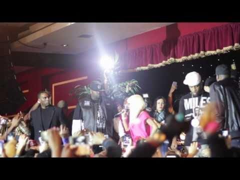Nicki Minaj Performs Roman's Revenge Accapella in NJ!