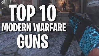Top 10 Guns In Call of Duty: Modern Warfare   The Countdown