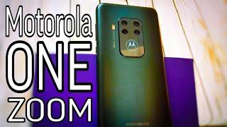 Motorola One Zoom честный обзор