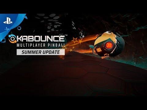 Kabounce - Summer Update Announce Trailer | PS4