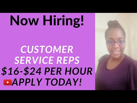 NEW! Get Paid $16-$24/hr. Work From Home Customer Service Jobs Open Now!
