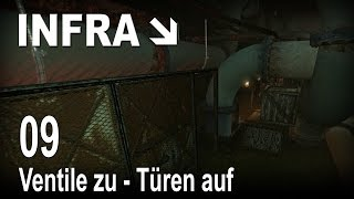 INFRA [09] [Ventile zu - Türen auf] [Let's Play Gameplay Deutsch German] thumbnail