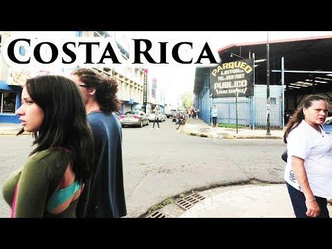 Walk in San Jose - Costa Rica (final) 2017 - 4K