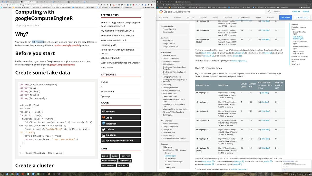 Embarrassingly Parallel Computing with googleComputeEngineR