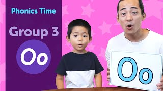 Group 3 : Oo | Phonics Time with Masa and Junya | Made by Red Cat Reading