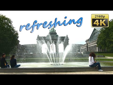 Park of the Fiftieth Anniversary, Brussels - Belgium 4K Travel Channel