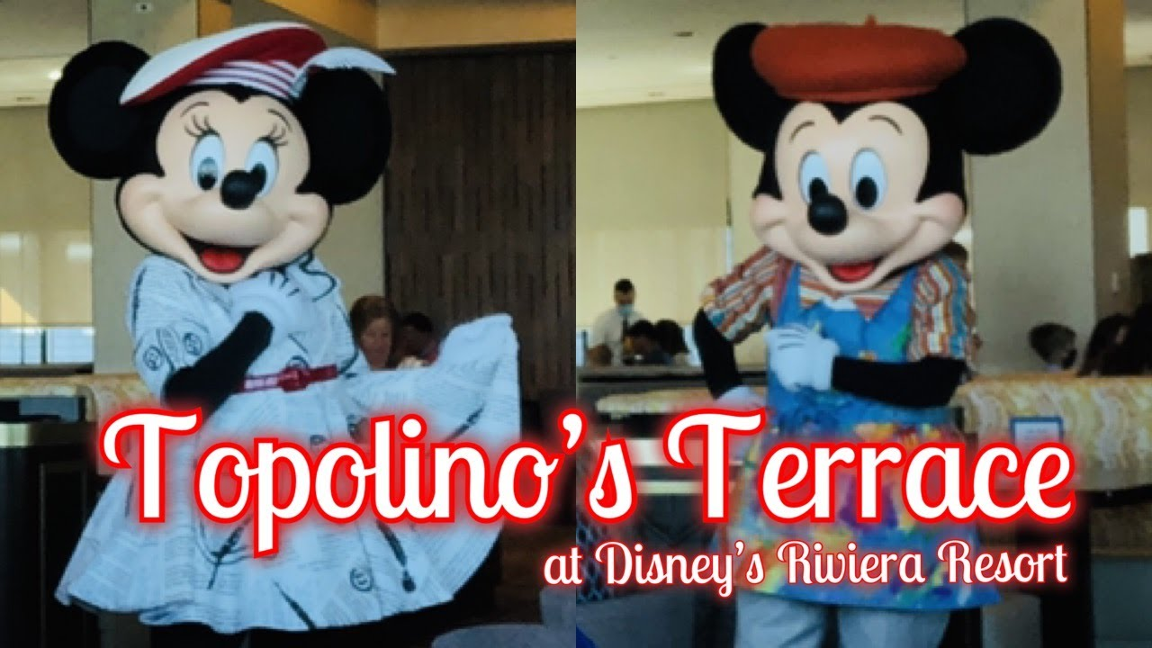 Seeing Mickey and Minnie Again at the Reopened Topolino's Terrace!