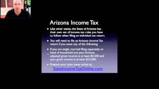 State of Arizona Income Tax