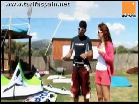 Tarifa Holidays - Kitesurf lesson at Club Mistral Valdevaqueros part 1