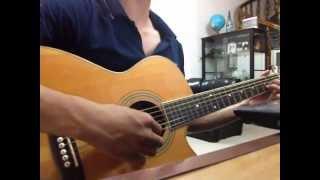 Tình yêu lạ kỳ - Guitar cover - LHV