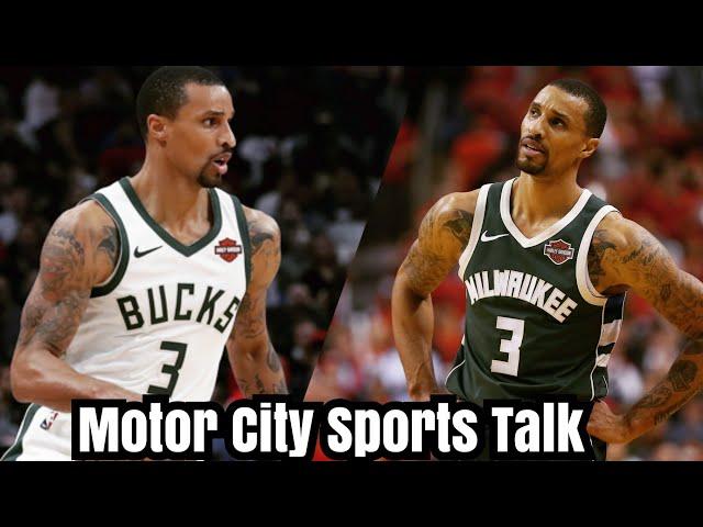 (Free Agent Spotlight) Milwaukee Bucks Waive PG George Hill   Should Detroit Pistons Pursue Hill?