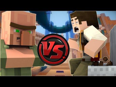 BOK SET VS KÖYLÜ SET! (Minecraft)