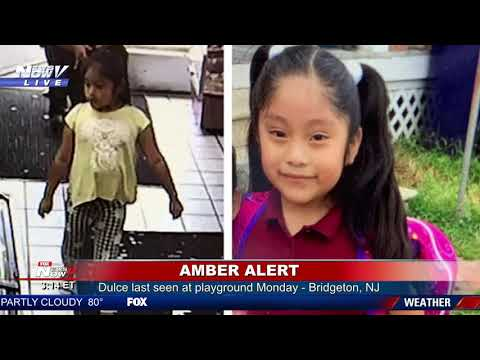 5YO MISSING: Police ask for public's help finding missing NJ girl