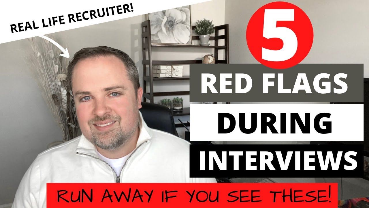 5 Red Flags Employers Show in Interviews – BEWARE of these!
