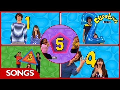 CBeebies - Number Raps 1 - 5